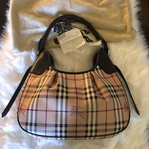Women s Burberry Haymarket Shoulder Bag on Poshmark c5bda52f64a24